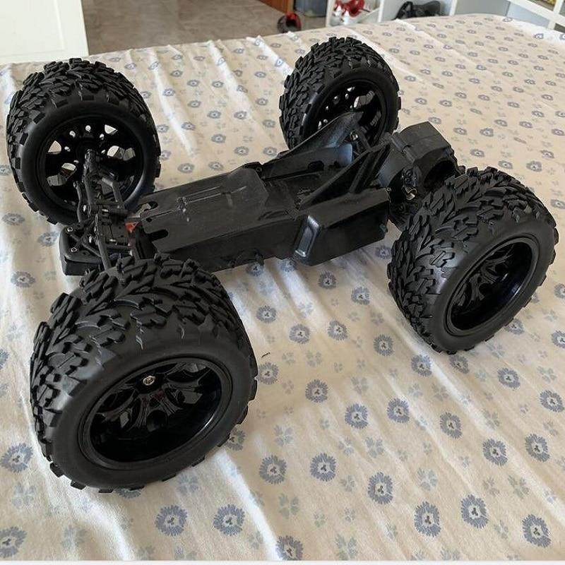 4pcs/set 1:10 RC Monster Bigfoot Car Buggy Tires For HPI HSP Traxxas Off-Road Tires Set Tyre Wheel Rim Wheel