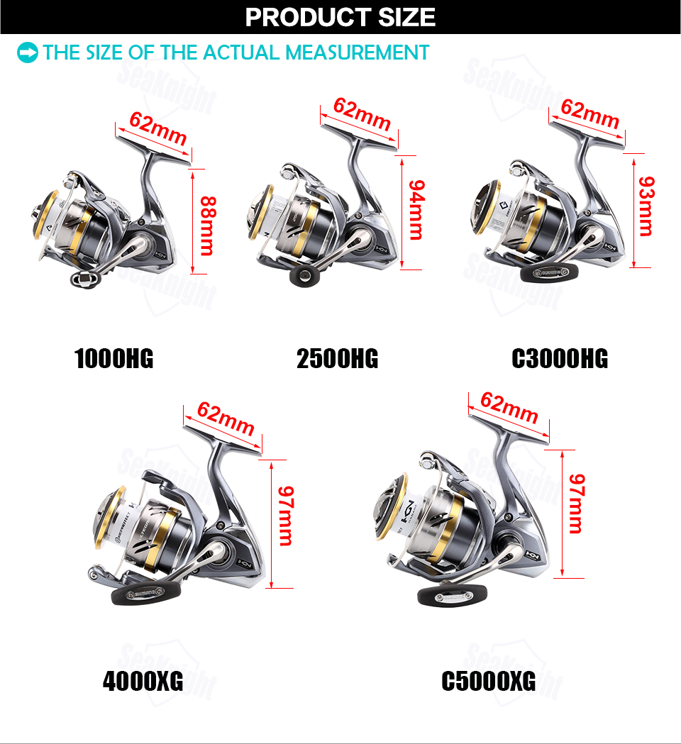 New Best Spinning Fishing Reel