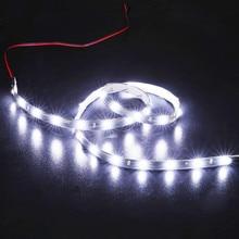 цена на 1Pcs 60cm *30 SMD DC 12V LED White Flexible Neon Strip Car Motor Light Lamp Waterproof Car Decoration