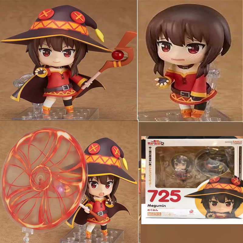 Anime KonoSuba God's Blessing on This Wonderful World Megumin Nendoroid 725 Action Figure CollectibleToys Gifts