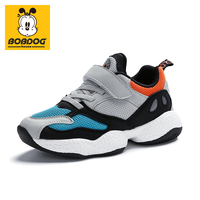 BOBDOG house kids shoes plus size non slip baby shoes breathable sports and leisure Boys and girls shoes BX8322