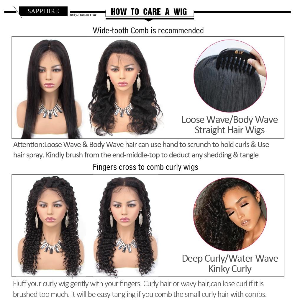 H26b56758493449d6a3897610ba560cbeb Sapphire Straight Hair Brazilian Lace Wig 4*4 Lace Closure Wig Human Hair Wigs Straight Preplucked Brazilian Human Hair Wigs
