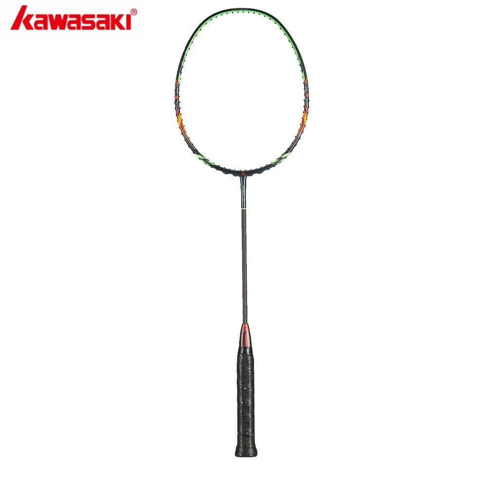 2019 Kawasaki Original  Badminton Rackets HONOR S6 30T Carbon Fiber Box Frame Racquet For Amateur Intermediate Players