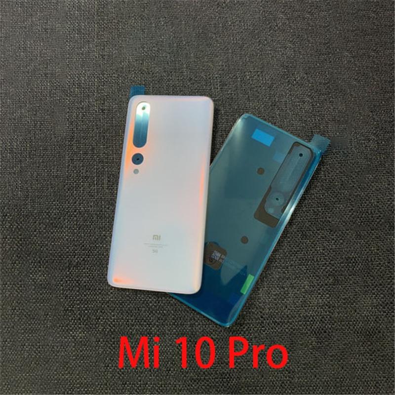 For Xiaomi Mi 9 Mi 10 Mi 10 Pro Mi CC9 Original Back Cover Glass Rear Shell Original Rear Screen Brand New Battery Cover