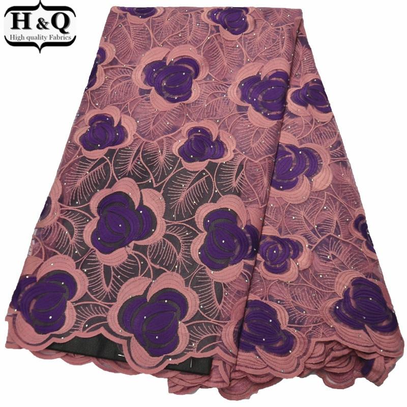 Винтажная кружевная ткань вышитое кружево Французский Тюль Кружево африканская мода женское платье ткань Африканская Сетка кружево Сетка