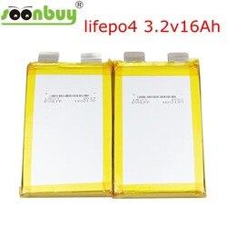 Nouveau 3.2v lifepo4 batterie rechargeable 16000mah lithium-ion polymère batterie pour 24v 12v 36v 10ah vélo électrique peut cacher ener