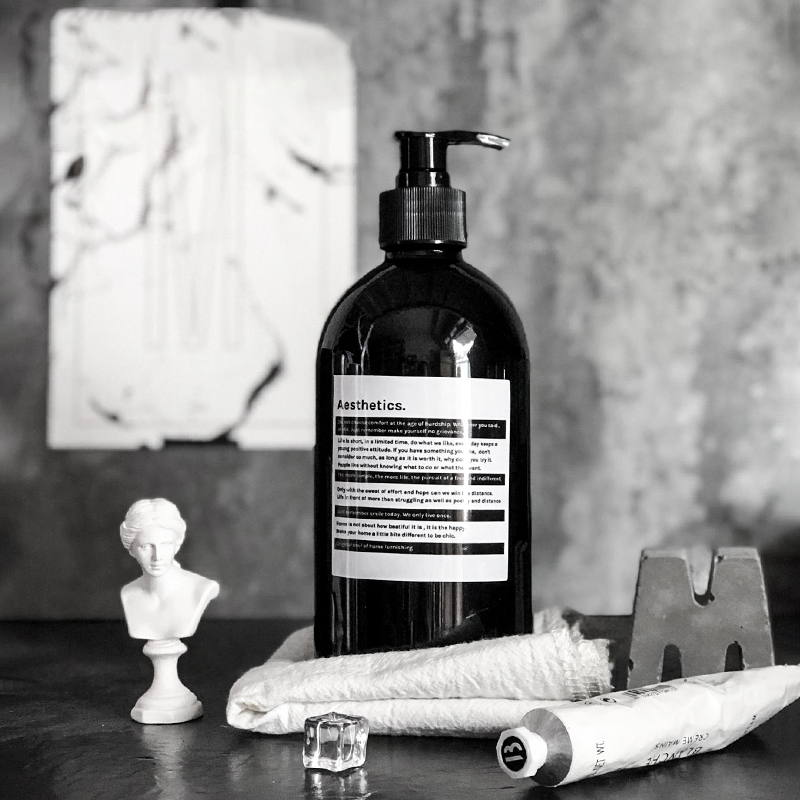 500ml Plastic Soap Bottle Liquid Travel Soap Dispenser Bottle Shower Gel Shampoo Hand Sanatizer Bathroom decoration Sub-bottling 1