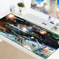 Star wars mousepad  tapete para jogos  computador  mouse  grande  tapete para teclado para pc