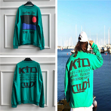 Kanye West KID CUDI CPFM.XYZ Hoodies Men Women Flame Spirit Sweatshirt CPFM Blue Stranger Things 3d