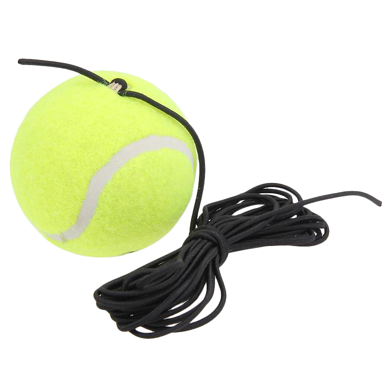 Super Sell-Single Package Tennis Trainer Tennis Tool With String Replacement Rubber Felt Training Tennis Accessories