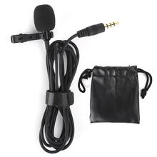 Clip Microphone Collar Wired Video-Recording Mini High-Quality for Capacitive