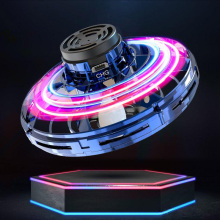 FlyNova UFO Спиннер для детей и взрослых, портативный Спиннер с вращением на 360 °, игрушка для снятия стресса, Забавные пальчики, Детские Подарочные игрушки