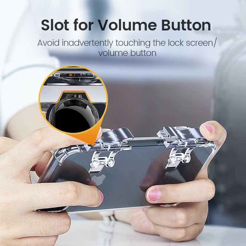 Ugreen PUBG Joystick Controller Trigger Per il iPhone Celular Joypad Gamepad Android Fuoco Obiettivo Del Telefono Mobile Triger Controller PUBG