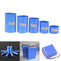 Cinta de película de PVC retráctil de 1M, 30-85mm, Tubo termorretráctil de batería de litio de 18650, envoltura de ion de litio, funda para la piel, accesorios