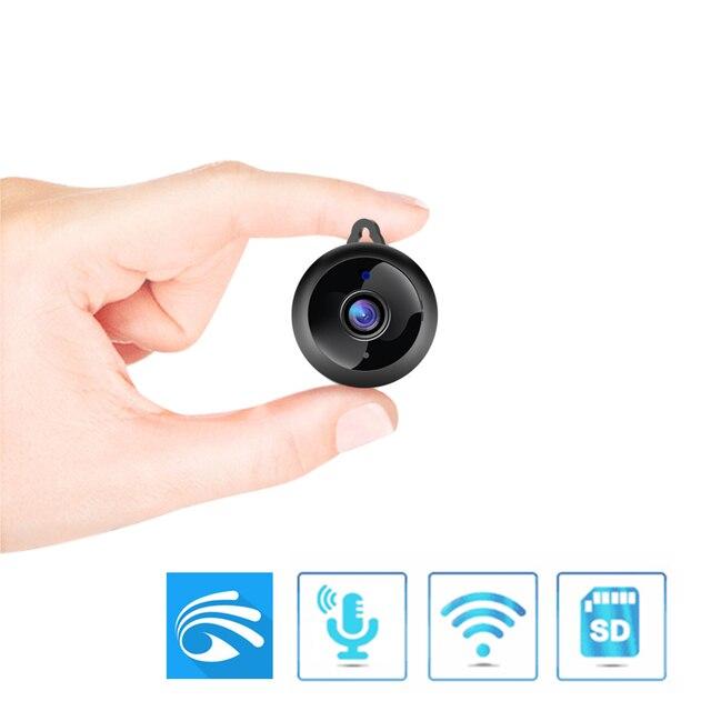 كاميرا واي فاي صغيرة لاسلكية 1080P HD الأشعة تحت الحمراء للرؤية الليلية أمن الوطن كاميرا IP CCTV كشف الحركة مراقبة الطفل كاميرات Yoosee