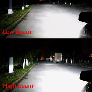Image 2 - CNSUNNYLIGHT H4 Hi/lo H7 H11 9006 רכב LED פנס 9005 HB3 HB4 H1 H13 גבוהה כוח סופר לבן 6000K נורות להחליף מנורה מקורית