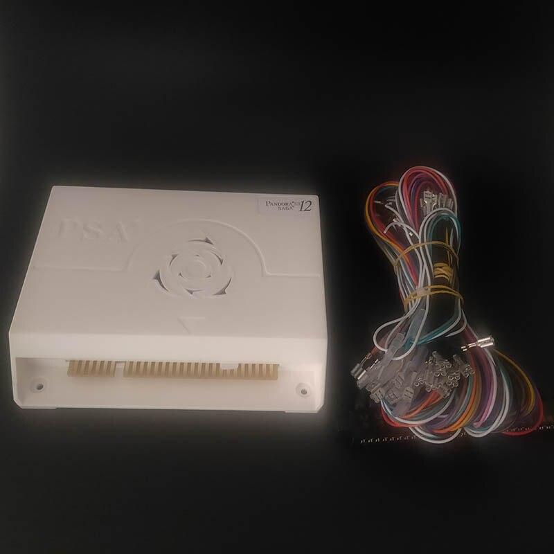 Pandora 12 Saga 3188 In 1 box Arcade Version Jamma Board PCB Joystick HD video 3D games Coin-operated HDMI VGA Arcade Machine(China)
