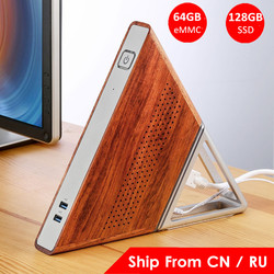Острый угол AA-B4 DIY Мини ПК Intel Apollo Lake N3450 Intel HD graphics 500 Windows 10 8GB ram 64GB eMMC 128GB SSD Wifi tv BOX