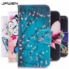 Case For Huawei P20 Lite 2019 P30 Mate 30 Pro Case Wallet Flip Leather Phone Cas