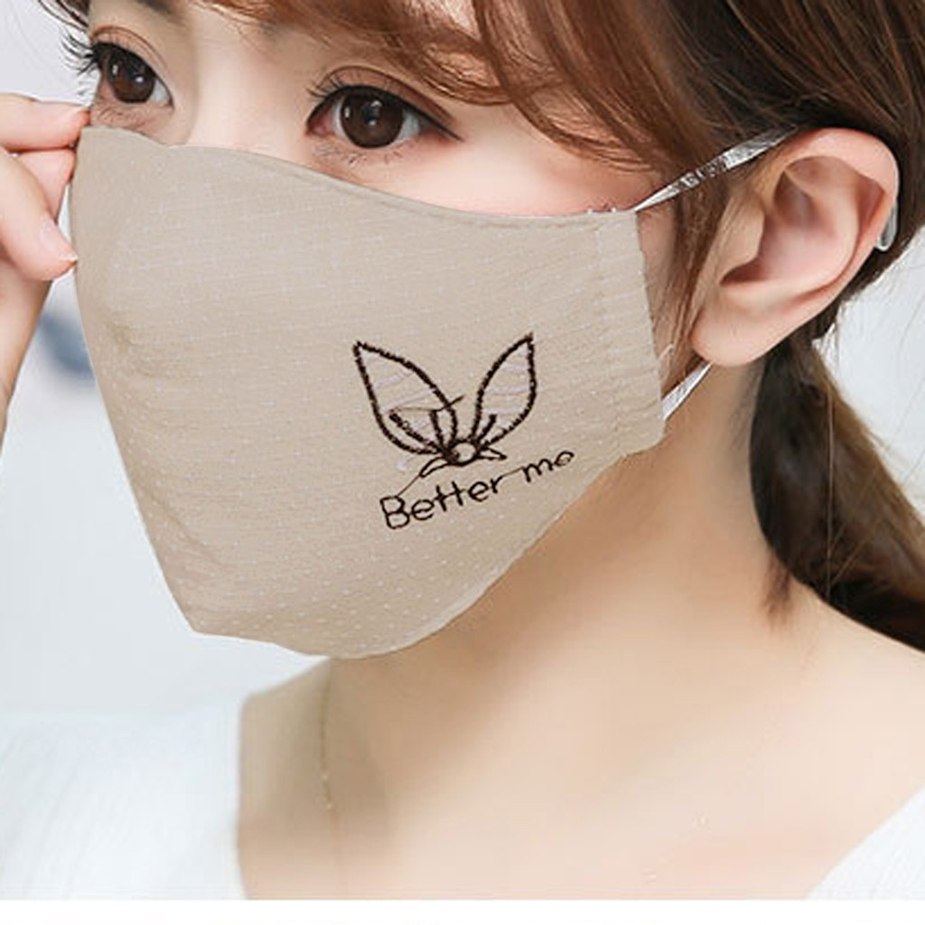 H26b74ae62099444d99b758f9ac792a99v Kawaii Maska Women Cotton Print Facemask Outdoor Riding Quick-drying Dustproof Keep Warm Mask