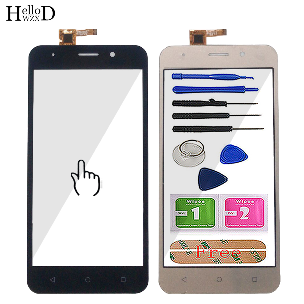5'' Mobile Touch Screen Panel For Vertex Impress Life Touch Digitizer Screen Panel Glass Sensor Assembly Module Complete Tools