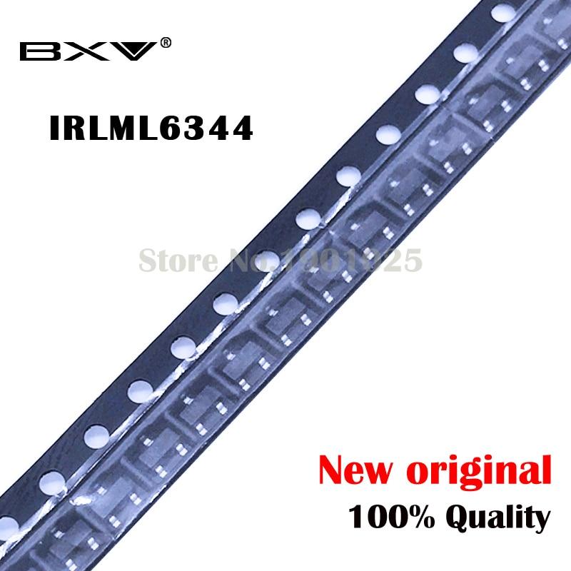 Free Shipping 20PCS/lot  IRLML6344 SOT23-3 LML6344 IRLML6344TR SOT23 IRLML6344TRPBF Original