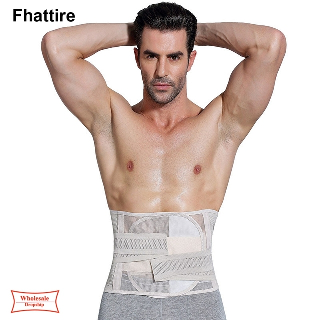 New Men Body Shaper Slimming Belt  Waist Trimmer Belt Corset Belly Fat Tummy Control Stomach Girdle Modeling Belts Waist Trainer