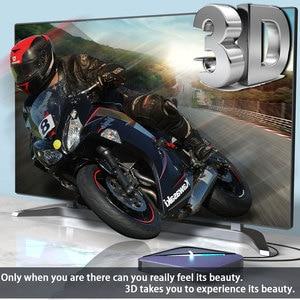 Image 4 - A95X F3 Android 9.0 Transpeed 8K procesor Amlogic S905X3 TV, pudełko 4K Youtube wifi 4GB 16GB 32GB 64GB światło RGB TV, pudełko