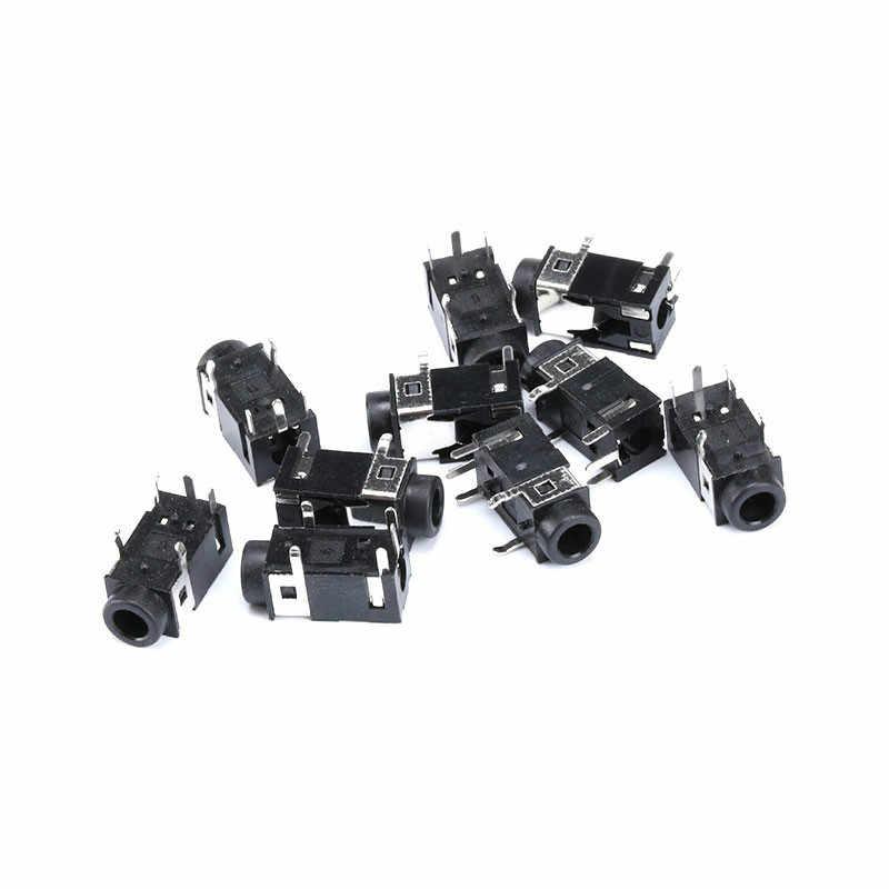 10 stks/partij PJ322 3.5mm Vrouwelijke Audio Connector 5 Pin SMT Hoofdtelefoonaansluiting Socket PJ-322 PCB Mount Stereo Jack
