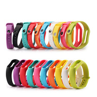 1 pz accessori per orologi cinturino in Gel di silice per Xiaomi Mi band 2 cinturino di ricambio M2 cinturino in Silicone morbido per cinturino Mi band 2