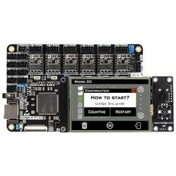 FFYY-3D Printer Board Arm 32Bit Controller Motherboard For 3D Printer Control Mainboard Contact Screen Kit Diy Ntc100K Pt100