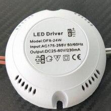 1 قطعة 24 واط 36 واط LED سائق ، سائق السقف ، 220 فولت سائق دائري الإضاءة تحويل ل LED النازل ، أضواء