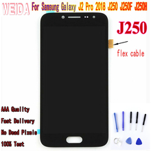 5.0  For Samsung Galaxy J2 Pro 2018 J250 J250F J250H J250M LCD Display Touch screen digitizer Assembly For Samsung J250 LCD lcd for samsung galaxy j2 pro 2018 j250 j250f sm j250f ds lcd display touch screen digitizer assembly replacement