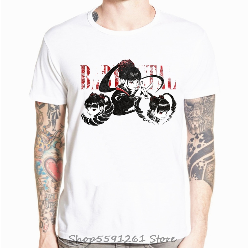 Moa Metal Babymetal T-Shirt Print T Shirt Basic T-Shirts Casual T Shirts Streetwear Men Short Sleeve Summer Casual Tee Shirt