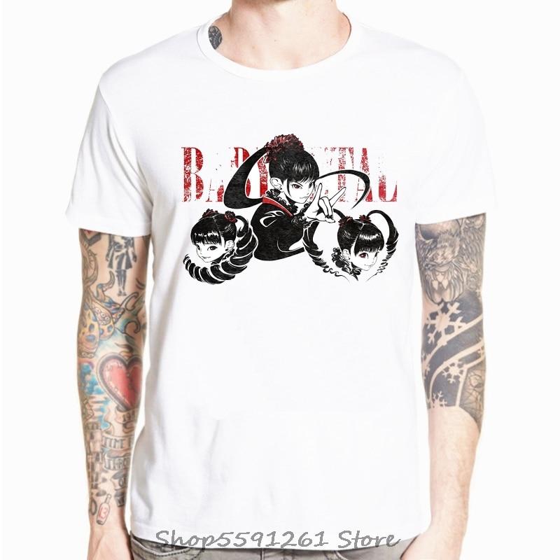 Moa Metal Babymetal T-Shirt Print T Shirt Basic T-Shirts Casual T Shirts Streetwear Men Short Sleeve Summer Casual Tee Shirt