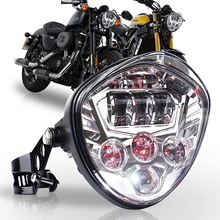 אוניברסלי אופנוע פנס עם סוגר מהדק מזלג צינורות עם היקף של 97.4 כדי 135mm הארלי הונדה ימאהה סוזוקי