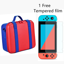 EVA Large Hard Carrying Switch Case Bag Compatible For Switch Shockproof Multifunctional Hard Shell Nintend NS Game Accessories
