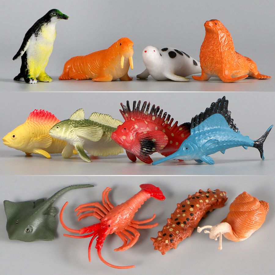 12 Pcs Tropical Fish Shark Ocean Marine Animals Models Action Figures Pvc Sea World Toy For Kid Educational Toys Gifts Mega Deal Ac31 Cicig