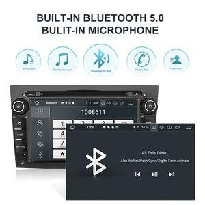 Image 3 - Isudar PX6 2 Din Android 10 Car Multimedia Player GPS DVD For OPEL/ASTRA/Zafira/Combo/Corsa/Antara/Vivaro Auto Radio FM DSP DVR