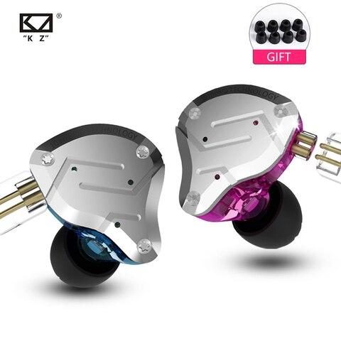 2019 KZ ZS10 PRO 4BA+1DD KZ Hybrid Earphone headset HIFI Earbuds In Ear Monitor Headphones Earbuds for KZ AS10 ZS10 ZSN PRO Pakistan