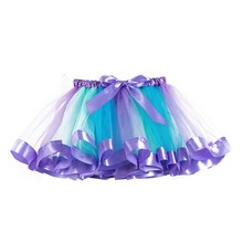 tutu skirt baby girl skirts 2 to 11 years girls kids tutu party dance ballet toddler baby costume dot print skirts summer 2020 Tutu Skirt Baby Girl Skirts 1 To 8 Years Princess Pettiskirt Party Dance Rainbow Tulle Skirts Girls Clothes Children Clothing