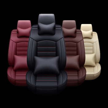 5 sztuk zestaw pokrycie siedzenia samochodu oddychająca skóra poduszki siedzenia poduszki na siedzenia samochodowe ochraniacz na krzesło uniwersalne akcesoria do wnętrz samochodowych tanie i dobre opinie CN (pochodzenie) Czekam przewodniczącego Meble sklepowe As Details YX-CARSEAT Prawdziwej skóry