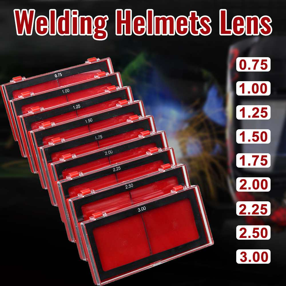 Safety Mask Eyes Goggles 0.75-3.0 Mm Thickness Welding Helmet Lens Welding Photoelectric Helmet For Construction Welding Work