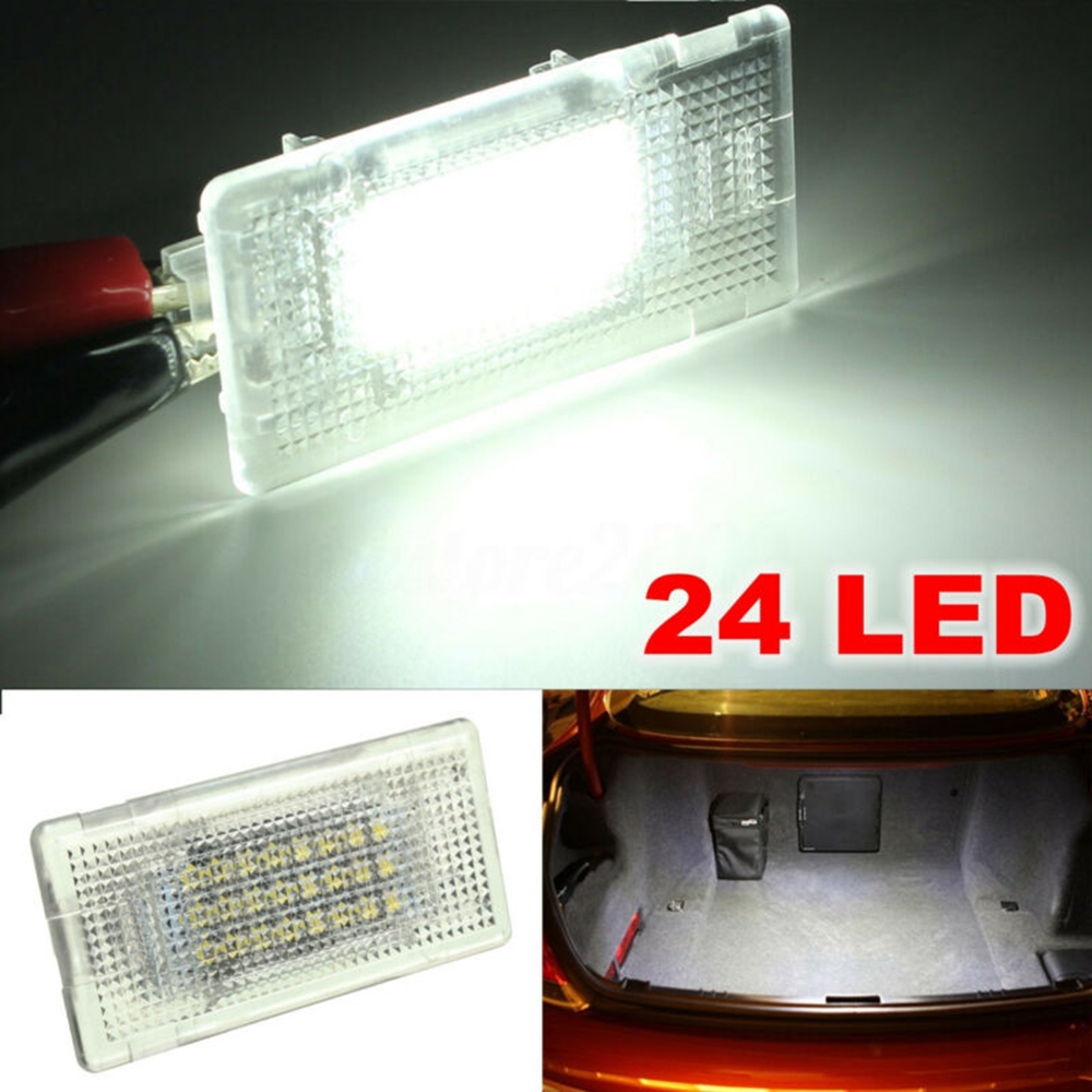 Car LED Luggage Footwell Trunk Lid Light Glove Box Lamp For BMW E36 E38 E39 E46 E60 E61 E65 E66 E82 E88 E90 E91 E92 E93 F01 F02 image