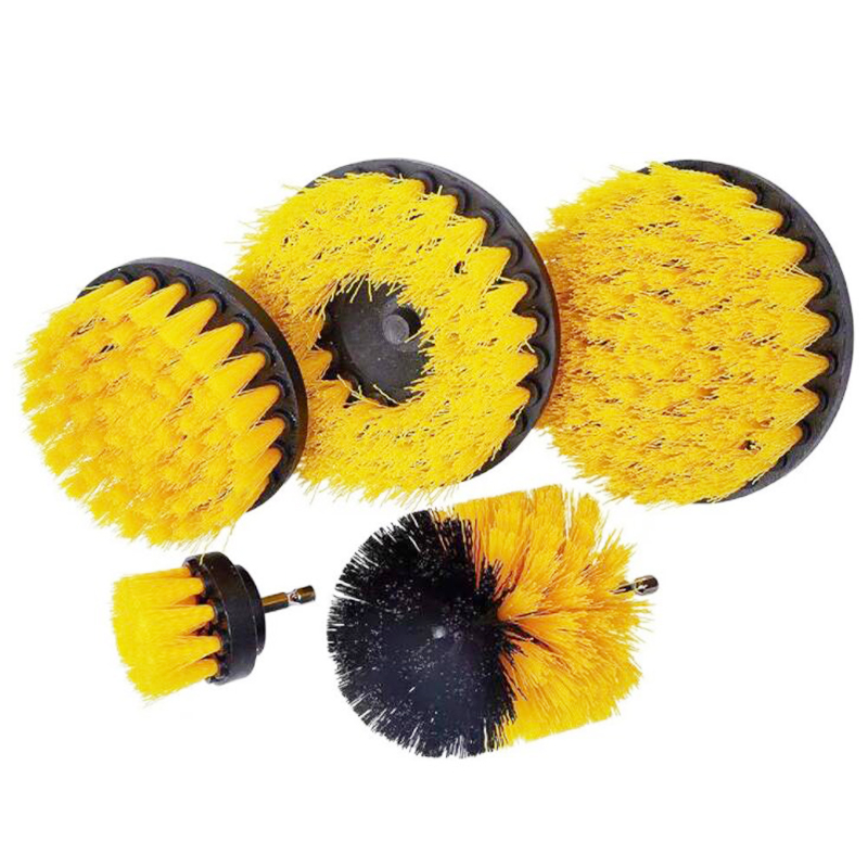 2 3.5 4 5 Inch Power Drill Scrubber Brush Cleaning Brush Drill Brush for Tub Tile Leather Bathroom Car Tires Carpet
