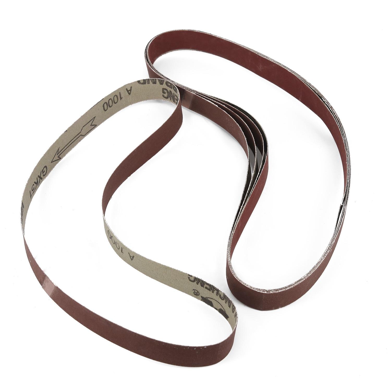 15pcs 25 *762mm Aluminum Oxide Abrasive Sanding Belts 1