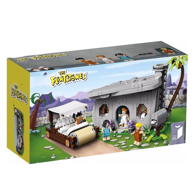 2019 New Ideas Bricks The Flintstones Compatible Legoingly Ideas 21316 Building Blocks Bricks For Children Toys Christmas Gifts