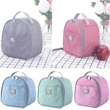 2019 New Portable Insulated Thermal Cooler Lunch Box Bento Tote Storage Bag Case Picnic(China)