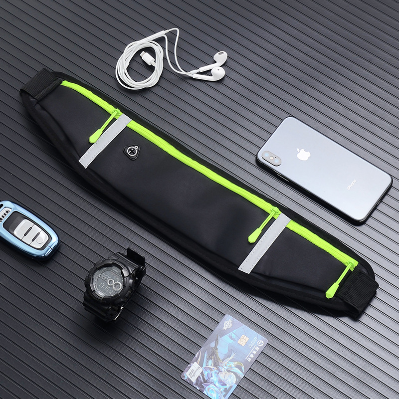 Sports Waist Running Mobile Phone Bag Men And Women Multi-functional Outdoor Waterproof Invisible Ultra-thin Mini Belt Bag