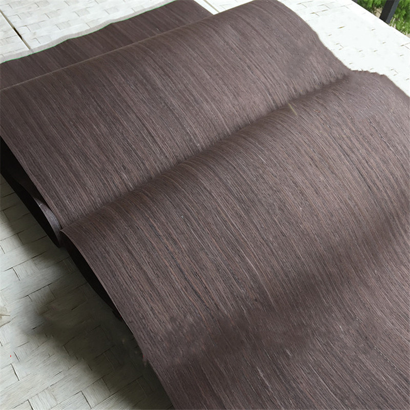 Technical Veneer Sliced Wood Engineering Veneer E.V. Black Oak Straight Grain Striped Q/C